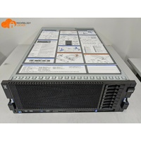 IBM X3850 X5 Server 4x Xeon E7-4850 total 40-Cores 256GB RAM ServeRAID M1015 Ctr